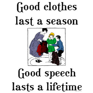 Good Speech School English Grammar Saying