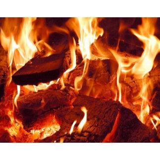 Super Intense Red Flames