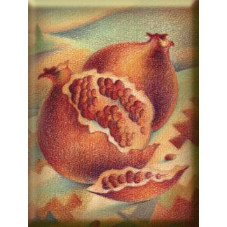 Pomegranates Symbols of Abundance