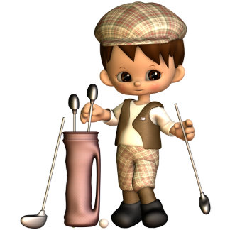 Golfer Cartoon