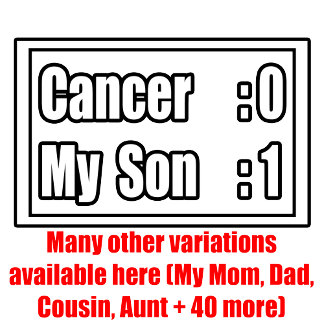 Cancer Scoreboard (Over 40 variations available!)