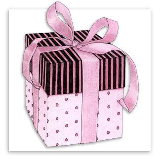 Pink & Black Gift