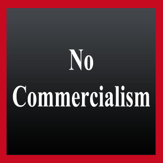 No Commercialism