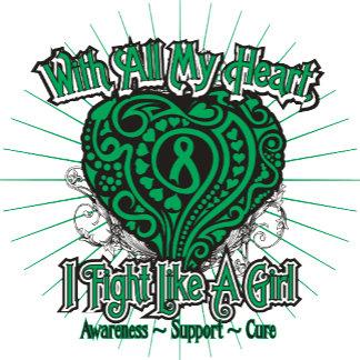 Liver Disease Heart I Fight Like A Girl