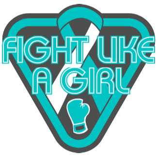 Cervical Cancer Fight Like A Girl Glove