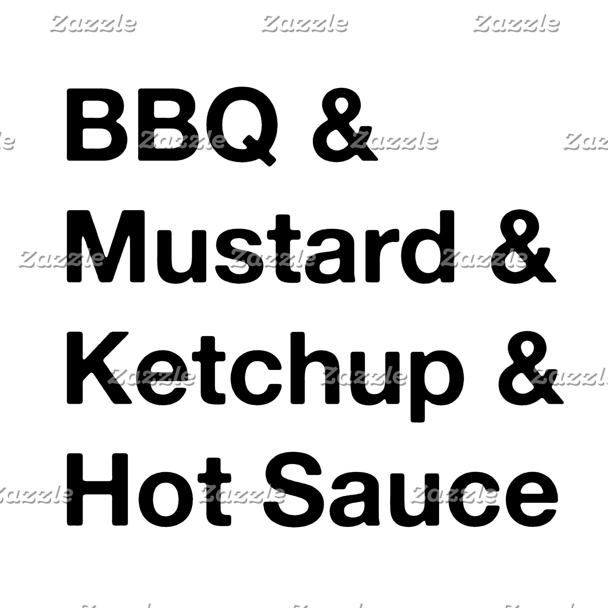 bbq typography