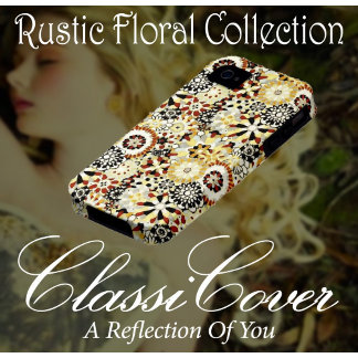 Rustic Floral Pattern Collection