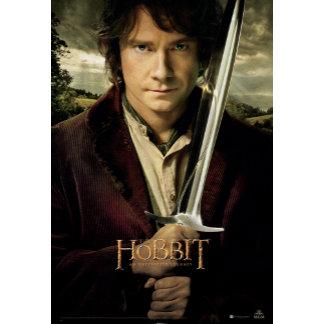 Bilbo with Sword Movie Poster