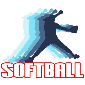 Softball Silhouette