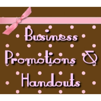 Business Promotion and Handouts