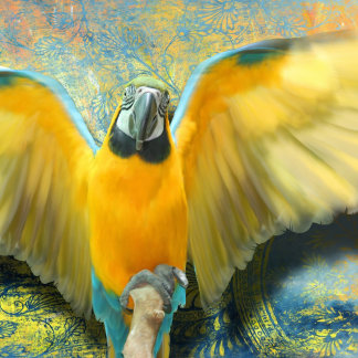 """Parrot """"Macabe the Macaw"""""""