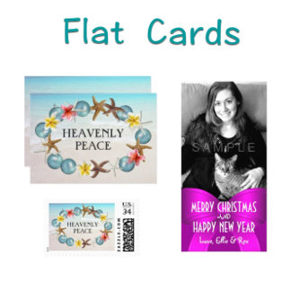 Flat Christmas Cards