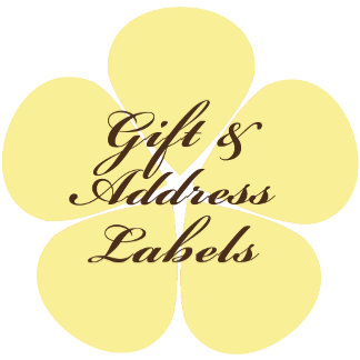Holiday Gift Cards and Address Labels