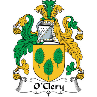 O'Clery Coat of Arms