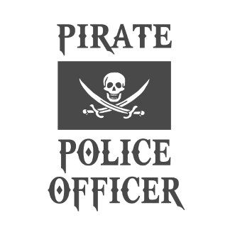 Pirate Police Officer