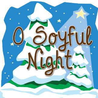 O Soyful Night Holiday Cards, Gifts, Apparel