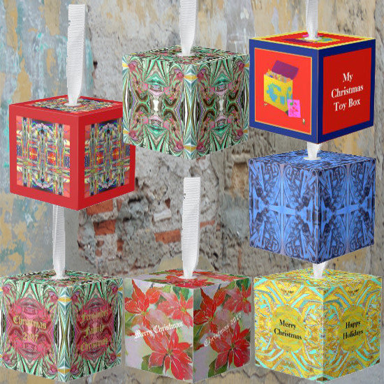 Creative New Cube Ornaments