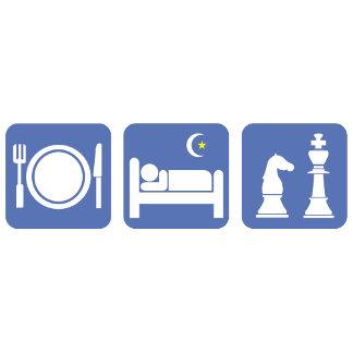 eat sleep chess(no text)