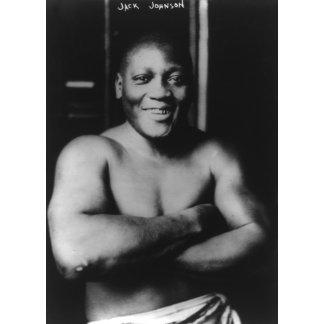 Boxer Jack Johnson Photograph