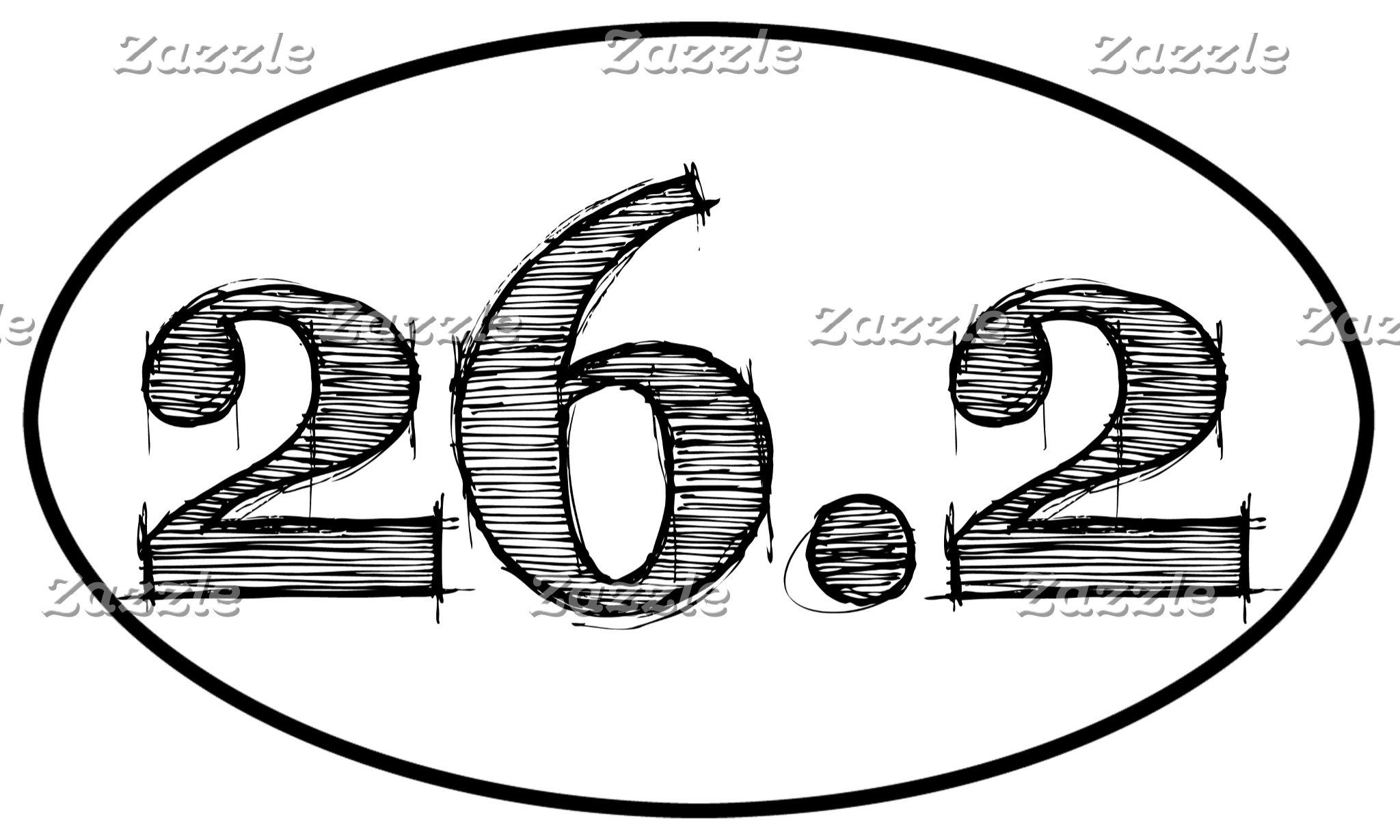 26.2 Marathon Sketch