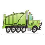 Heavy Duty Dump Truck Green.png
