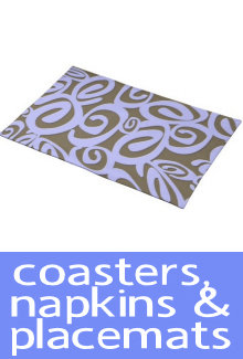 Coasters Napkins and Placemats