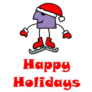 SkateChick Happy Holidays