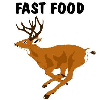 Funny Deer Fast Food