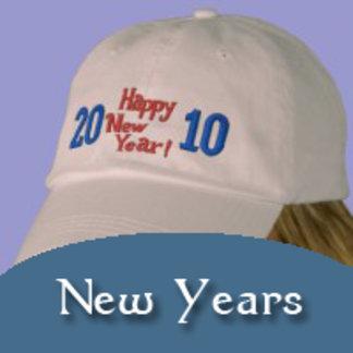 NEW YEAR's CAPS, SHIRTS