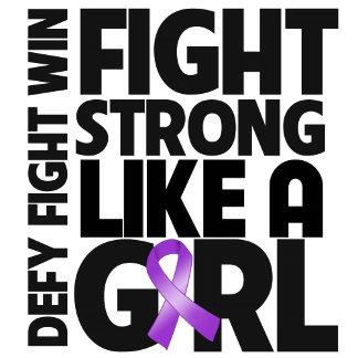 Leiomyosarcoma Fight Strong Like a Girl