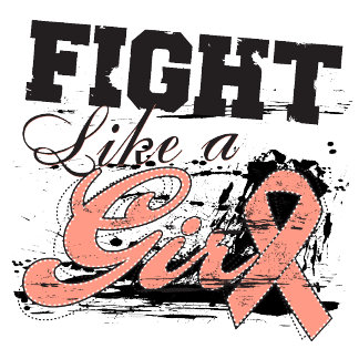 Fight Like a Girl Spray Paint - Endometrial Cancer