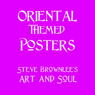 Oriental Themed Posters