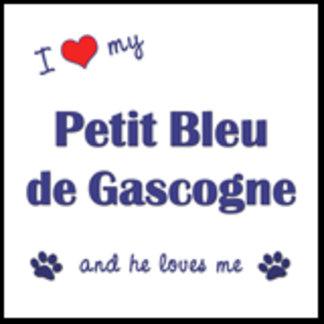 I Love My Petit Bleu de Gascogne (Male Dog)