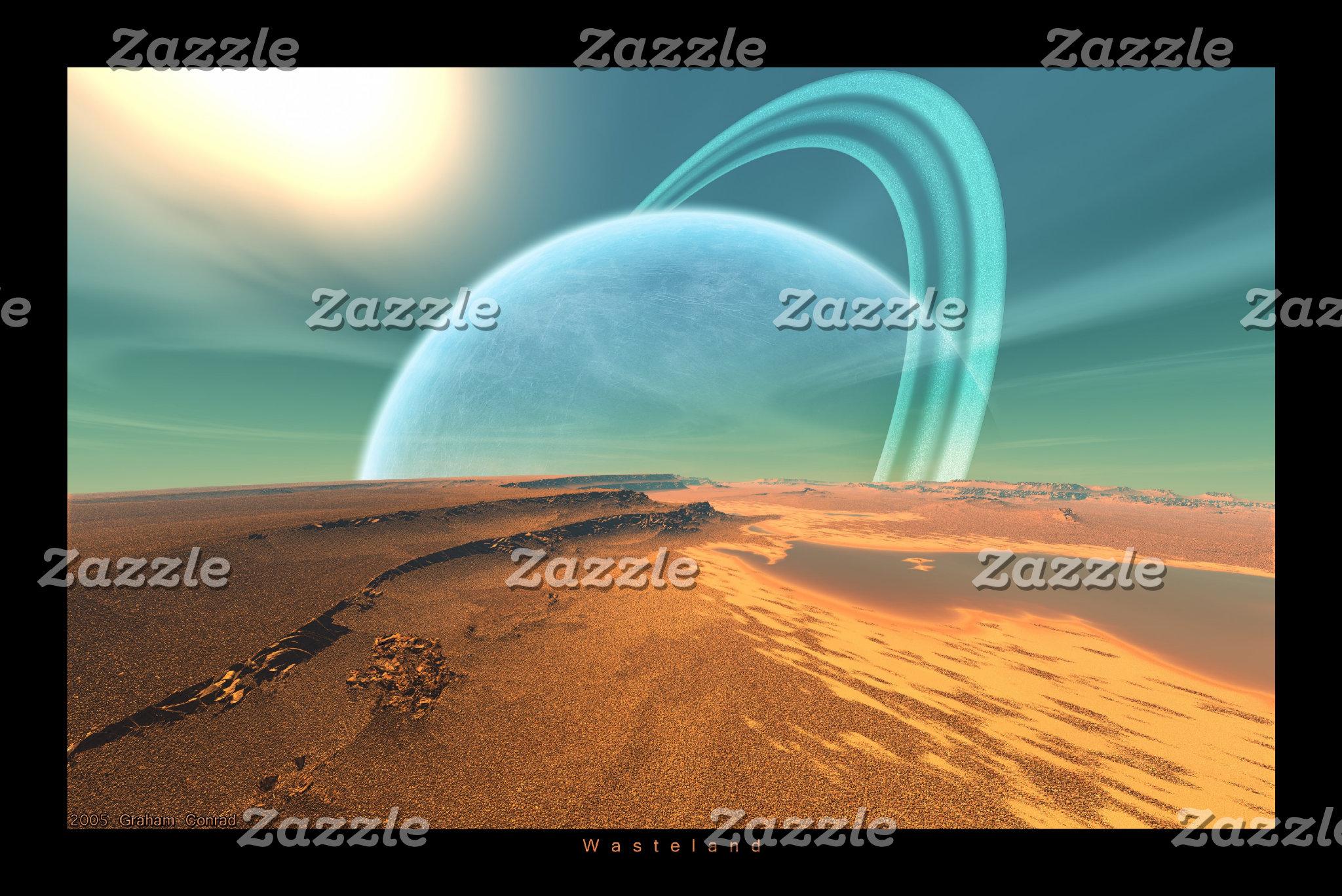 Alien Landscape Prints