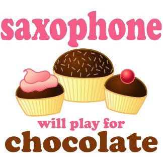 Chocolate Saxophone