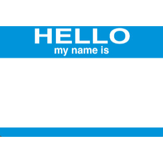 Hello My Name Is Store Designs Collections On Zazzle