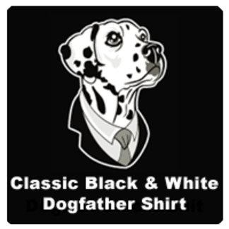 Classic Black & White Dogfather Shirt