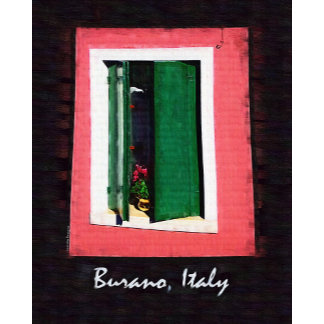 Burano Italy Posters, Decor and Gifts