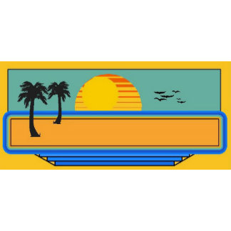Beach Scene Template