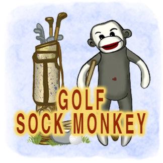 Sock Monkey Golf
