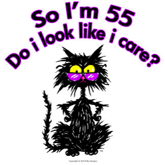 55th Birthday Cat Gifts