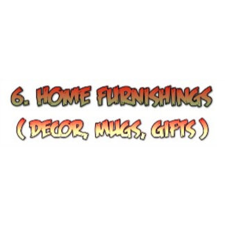 6. Home Furnishings, Decor,  Mugs, Gifts