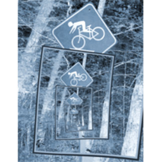 Bicycle Caution Traffic Sign