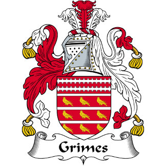 Grimes Family Crest / Coat of Arms