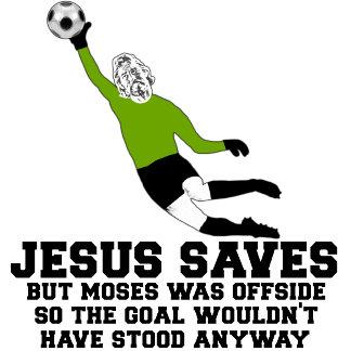 Atheist tees,Jesus saves spoof shirts