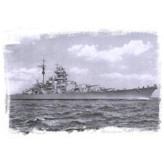 Bismarck at sea