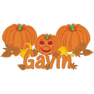 Pumpkin Gavin Personalized Halloween