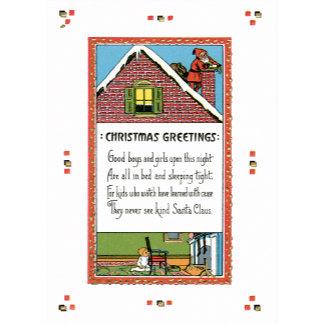 Christmas Greetings ~ Verse