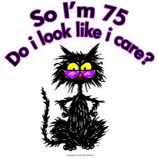 75th Birthday Cat Gifts
