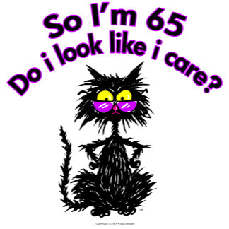 65th Birthday Cat Gifts